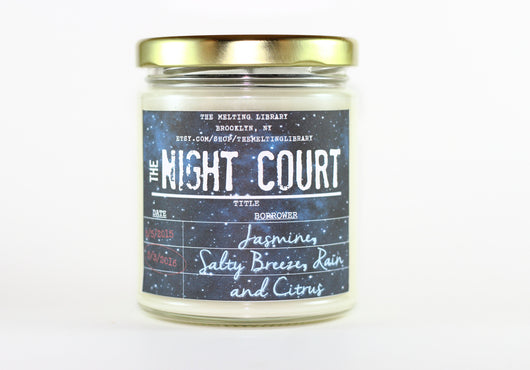 The Night Court - A Court of Mist and Fury Inspired Candle