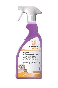 ANIGENE HLD4V Disinfectant Trigger Spray - Fragranced