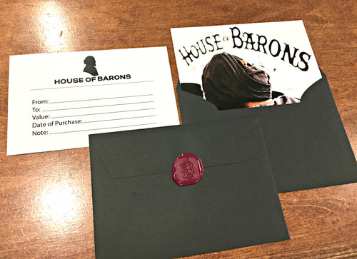 House of Barons Gift Card