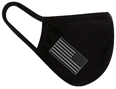 Rugged Trade United Strong Flag Mask - Dual layered - Re-Usable - USA Made