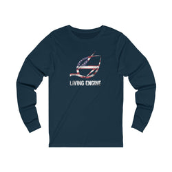 Living Engine American - Long Sleeve T-Shirt