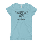 For The Animals - Lamb Girl's T-Shirt