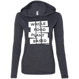 Whole Food Plant Based - Women's LS Hoodie w