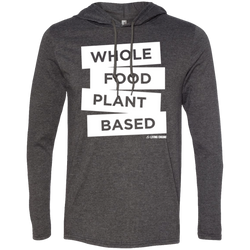 Whole Food Plant Based - Men's LS Hoodie w