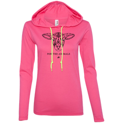 Lamb - For The Animals - Ladies LS Hoodie
