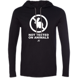 Not Tested On Animals - LS Hoodie W