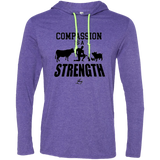 Compassion Is A Strength - Men's LS Hoodie