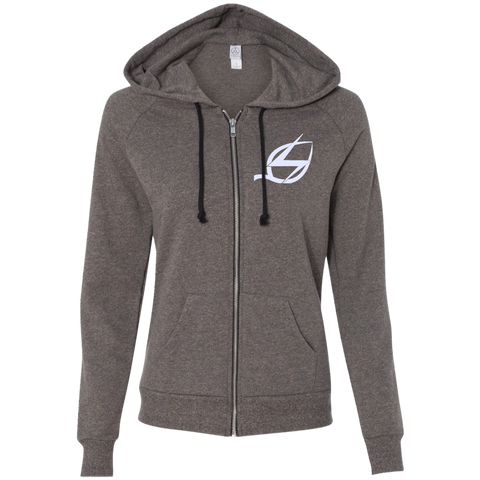 Vegan Power Ladies' French Terry Full Zip