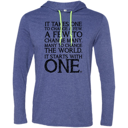 It Starts With One - Men's LS Hoodie