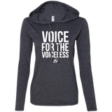 Voice For The Voiceless - Ladies LS Hoodie W