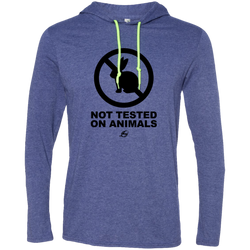 Not Tested On Animals - Men's LS Hoodie