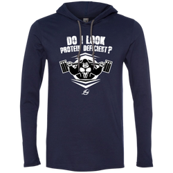 Do I Look Protein Deficient? - Men's LS Hoodie
