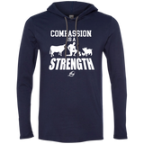 Compassion Is A Strength - LS Hoodie w