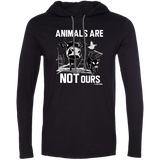 Animals Are Not Ours - Men's LS Hoodie