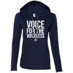 Voice For The Voiceless - Ladies LS Hoodie