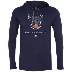 Pig - For The Animals - Men's LS Hoodie