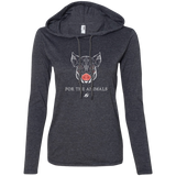 Pig - For The Animals - Ladies T-Shirt Hoodie