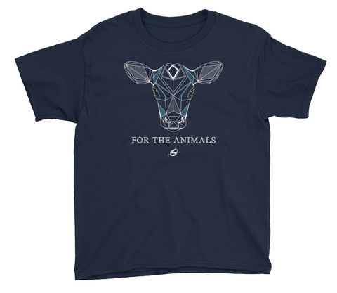 For The Animals - Calf Youth T-Shirt