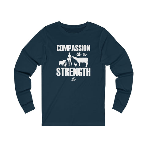 Compassion Is A Strength - Long Sleeve T-Shirt