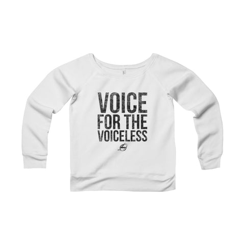 Voice For The Voiceless - Women's Sweatshirt