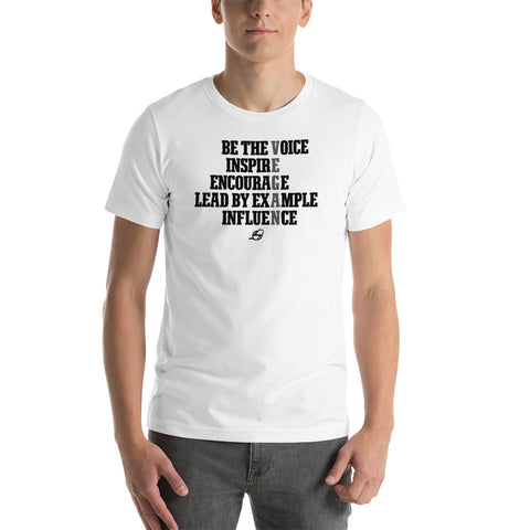 Lead By Example - Men's T-Shirt