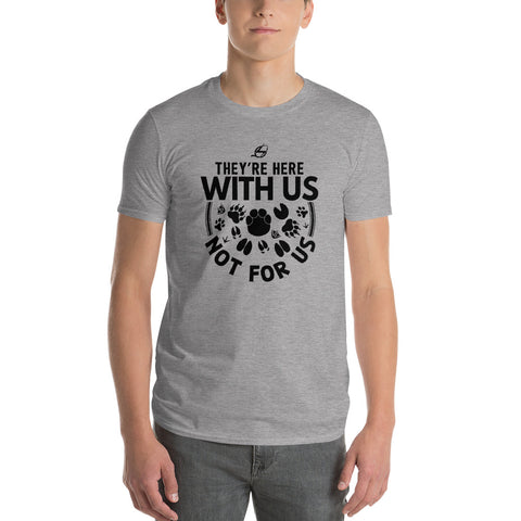 They're Here With Us - Men's T-Shirt