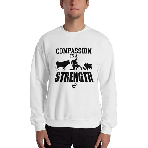 Compassion Is A Strength - Men's Sweatshirt
