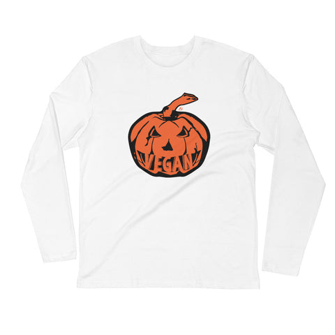 Vegan Pumpkin - Men's Long Sleeve Shirt