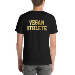 Vegan Athlete (Back) - Men's T-shirt