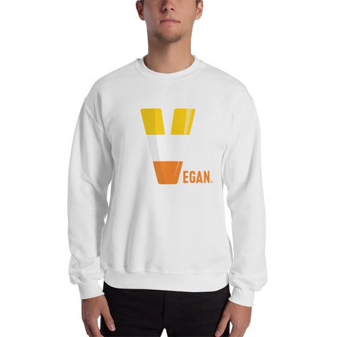 Vegan Candy Corn Sweatshirt