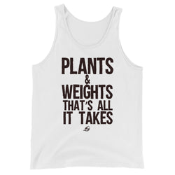 Plants & Weights - Men's Tank Top