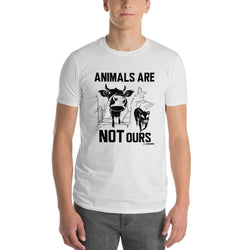 Animals Are Not Ours - Men's T-Shirt