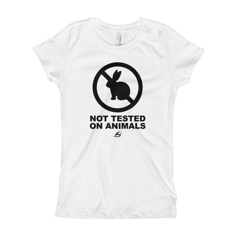 Not Tested On Animals - Girl's T-Shirt