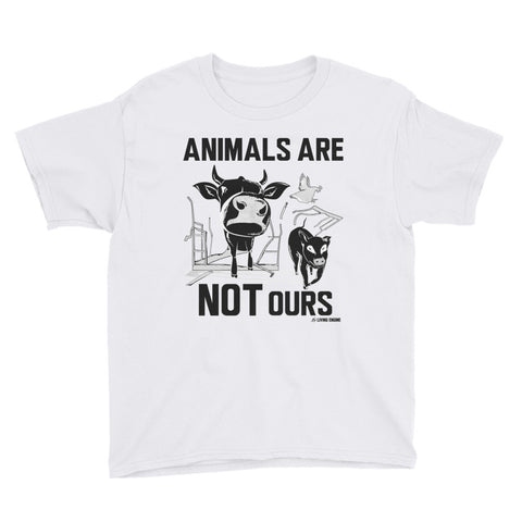 Animals Are Not Ours - Youth T-Shirt