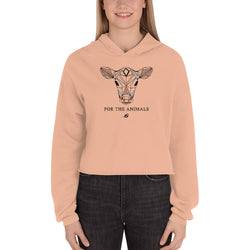 Calf - For The Animals - Crop Hoodie