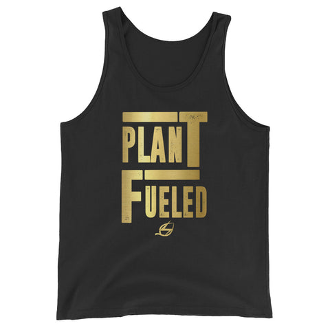 Plant Fueled - Gold - Men's Tank Top