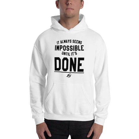 Until It's Done - Men's Hoodie