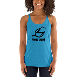 Living Engine - Women's Racerback Tank