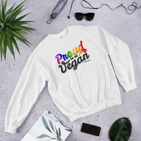 Proud To Be Vegan - Women's Sweatshirt
