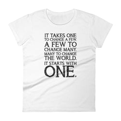 It Starts With One - Women's t-shirt
