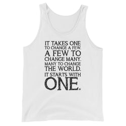 It Starts With One - Men's Tank Top