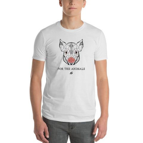 Pig - For The Animals - Men's T-Shirt