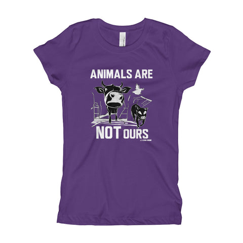 Animals Are Not Ours - Girl's T-Shirt
