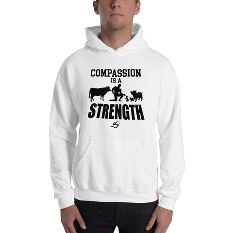 Compassion Is A Strength - Men's Hoodie