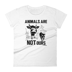 Animals Are Not Ours - Women's t-shirt