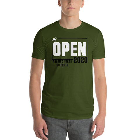 Open 2020 - Proving Vegan Strength T-Shirt