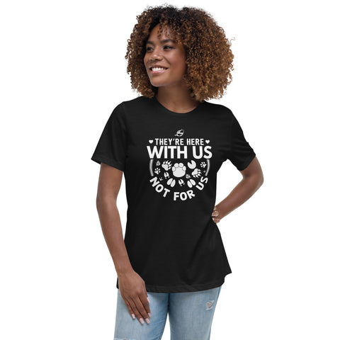 They're Here With Us - Women's Relaxed T-Shirt