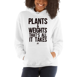 Plants & Weights - Women's Hoodie