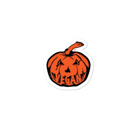 Vegan Pumpkin sticker