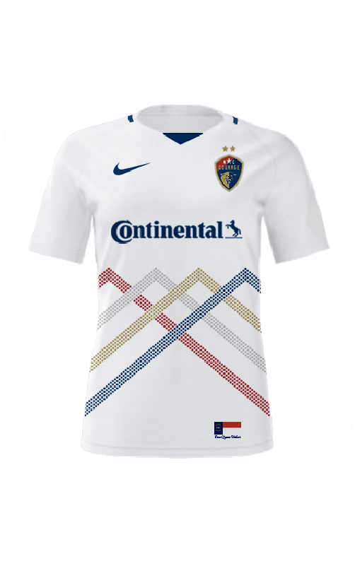 Customized 2021 NC Courage Authentic Secondary Jersey - Men's Cut (Ships ~3/8)